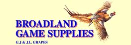 Broadland Game Supplies logo
